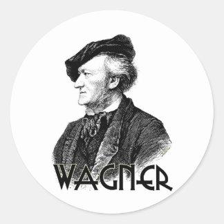 Wilhelm Richard Wagner Classic Round Sticker
