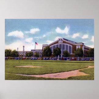 Wilkes Barre Pennsylvania Kingston Armory Print