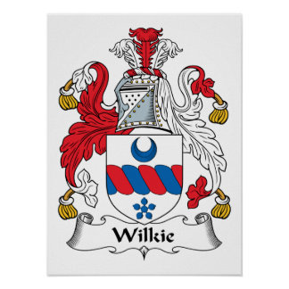 Wilkie Family Crest Poster