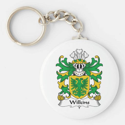 Wilkins Family Crest Keychain