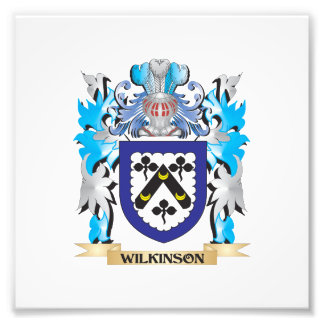 Wilkinson Coat of Arms - Family Crest Photo Print