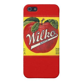 Wilko Brand Apples Case For iPhone 5/5S