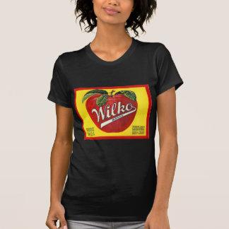 Wilko Brand Apples Vintage Label T-Shirt