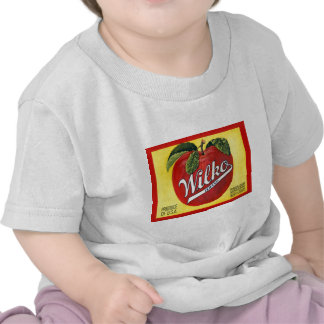 Wilko Brand Apples Vintage Label Shirts