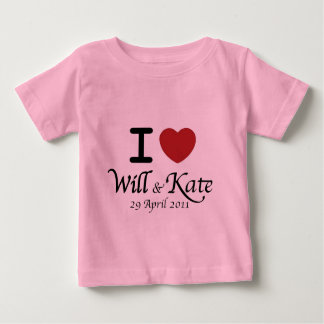 Will and Kate Royal Wedding Infant T-Shirt