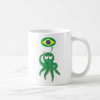 Will Brazil win the next World Cup? Basic White Mug