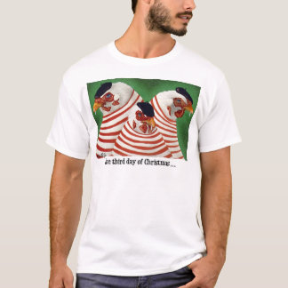 """Will Bullas Christmas tee """"the third day of Christ"""