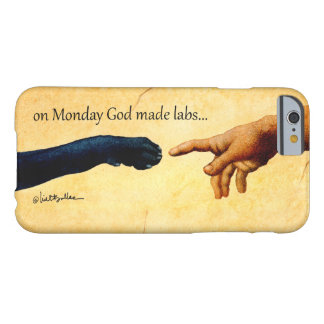 """Will Bullas iphone cover """"on Monday God made labs"""""""