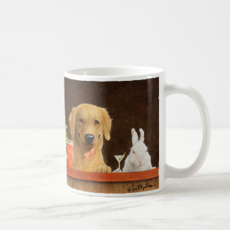 Will Bullas mug / hare of the dog and a young blon