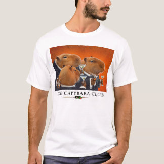 "Will Bullas tee ""Capybara Club"""
