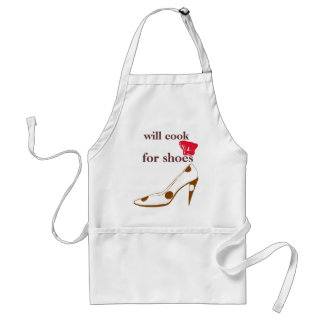 Will Cook for Cute High Heels Standard Apron