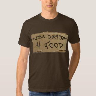 Will Design 4 Food Shirts