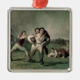 Will he do it? christmas ornament