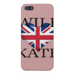 Will Heart Kate 1 iPhone 5/5S Cases