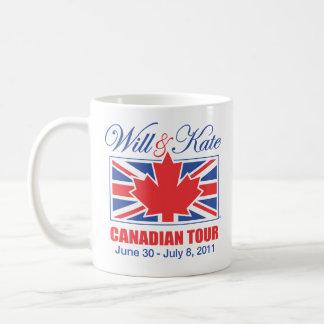WILL & KATE CANADIAN TOUR BASIC WHITE MUG