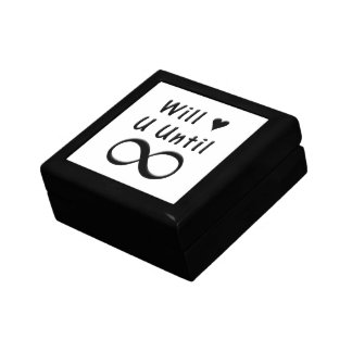 Will Love You Until Infinity Gift Box