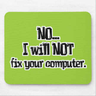 Will NOT Fix Your Computer Mouse Mat