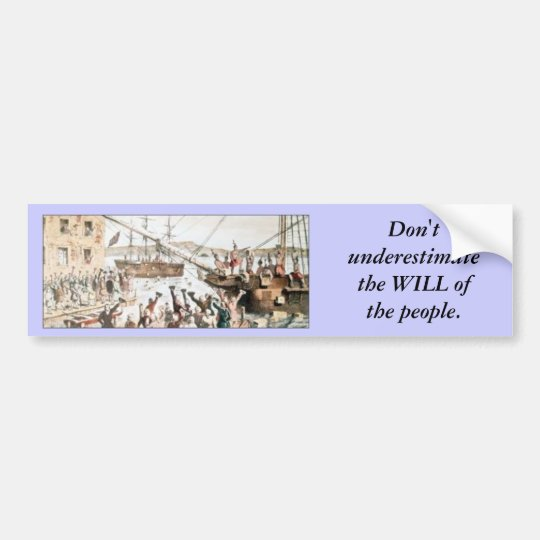 Will of the people bumper sticker