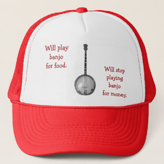 Will play banjo for food Hat