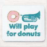 Will Play Baritone for Doughnuts