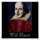 Will Power Poster