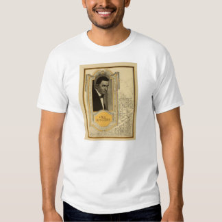 Will Rogers 1919 promotional ad T-shirt