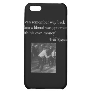 """Will Rogers Quote """"I can remember way back..."""" iPhone 5C Covers"""