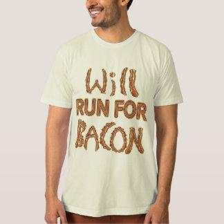WILL RUN FOR BACON Running Tees & Gear
