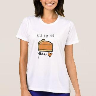 Will Run for Pie Running Shirt