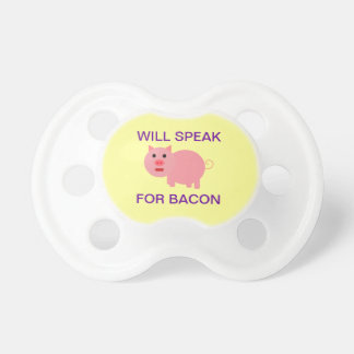 Will Speak For Bacon Dummy