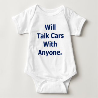 Will Talk Cars Baby Bodysuit
