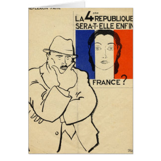 Will the 4th Republic still be France? Card