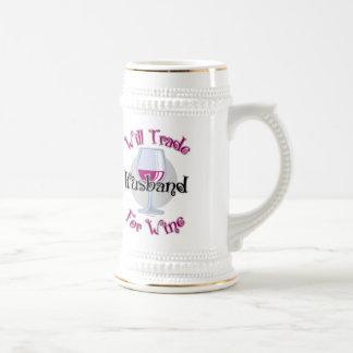 Will Trade Husband For Wine Coffee Mug