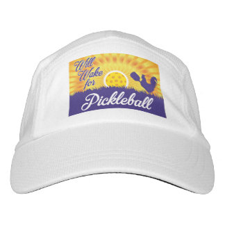 """Will Wake for Pickleball"" Hat"