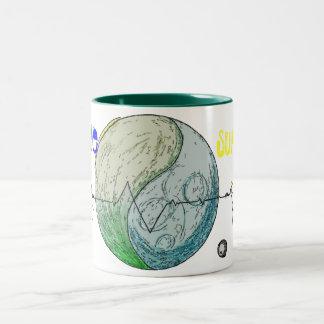 Will we survive? Two-Tone coffee mug