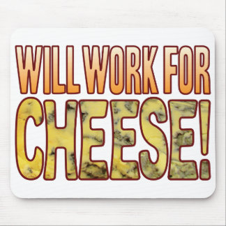 Will Work Blue Cheese Mouse Mat