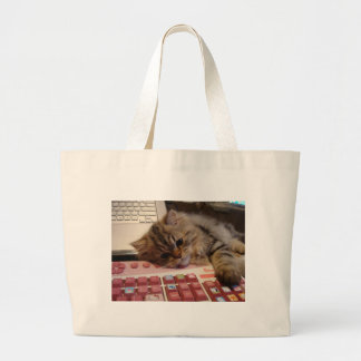 Will work for a catnip jumbo tote bag
