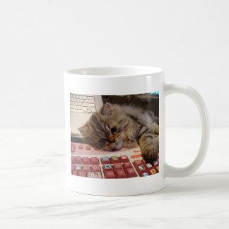 Will work for a catnip basic white mug