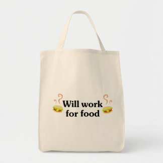 Will work for food canvas bags
