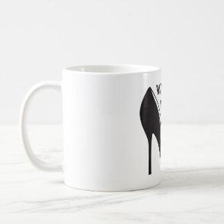 Will Work for Shoes Basic White Mug