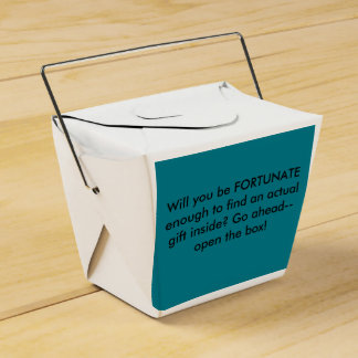 Will You Be Fortunate Gift Box