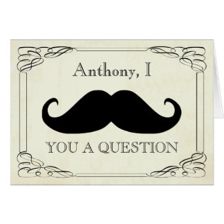 will you be my best man ? be my groomsman note card