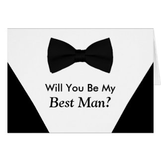 Will You Be My Best Man Cards