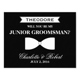 Will you be my Best Man | Groomsman 11 Cm X 14 Cm Invitation Card