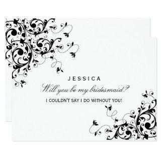 Invitation Card Black And White purplemoonco