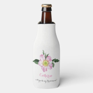 Will You Be My bridesmaid bottle cooler