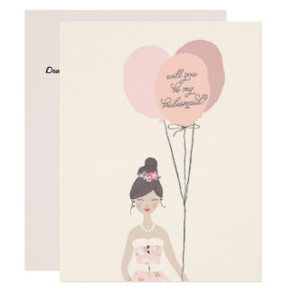 Will You Be My Bridesmaid? | Bridesmaid Card