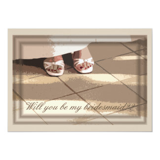Will You Be My Bridesmaid? Bridesmaids Card