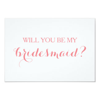 Will You Be My Bridesmaid Card Bridal Party Card