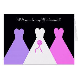 Will You Be My Bridesmaid Card -- Bridesmaid Poem